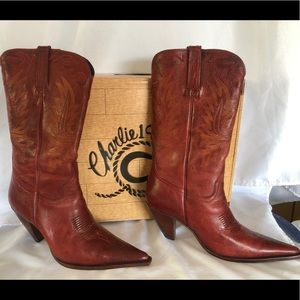 Charlie Horse by Lucchese Cowgirl boots